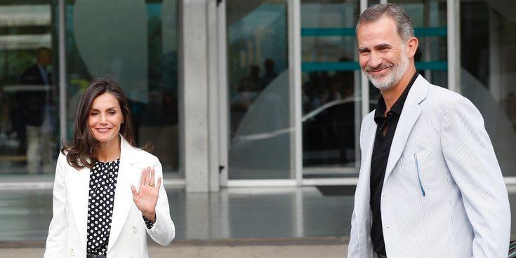 Los Reyes Felipe y Letizia acuden al hospital a ver al Rey Juan Carlos