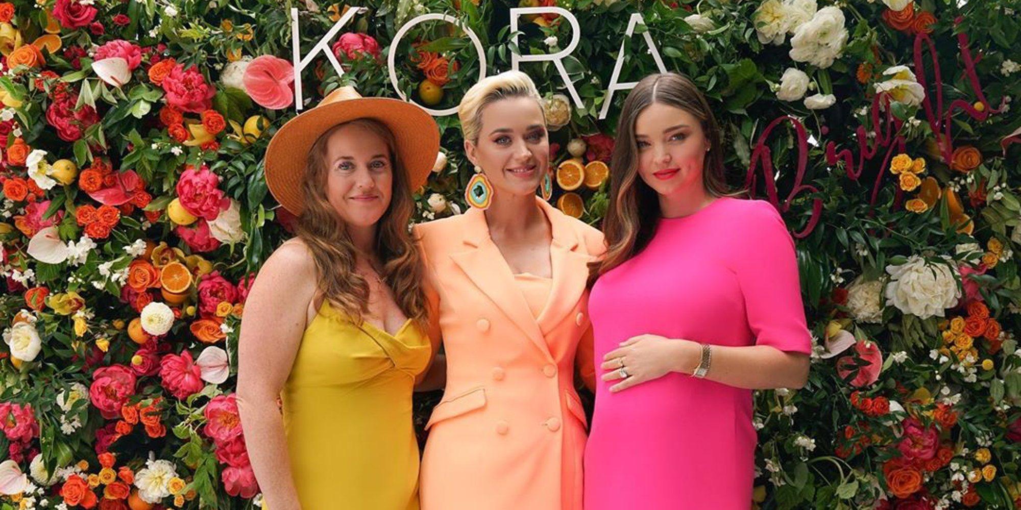 Miranda Kerr reconoce que es una gran fanática de la música de Katy Perry