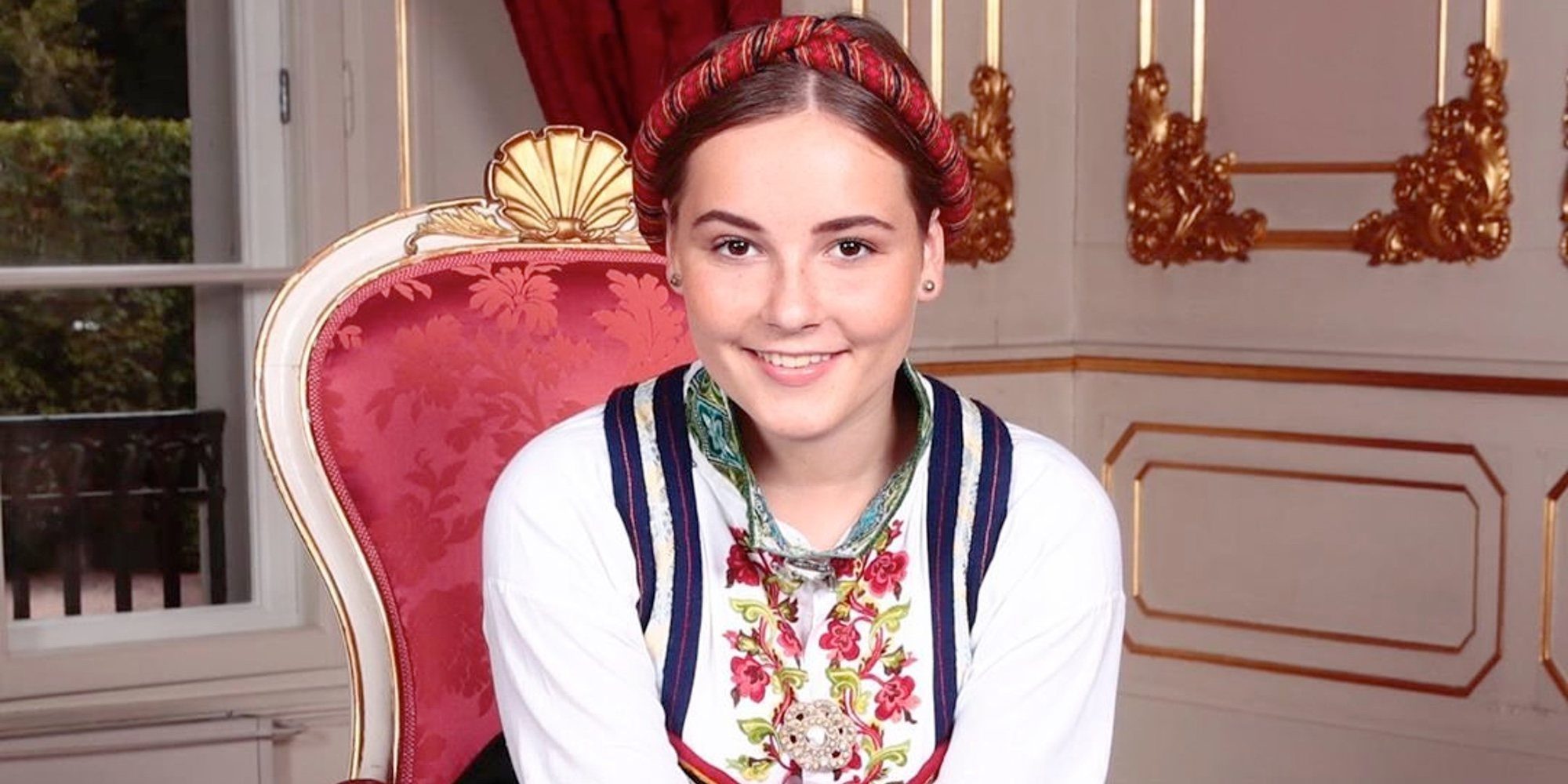 La tierna felicitación del Chamán Durek Verret a Ingrid Alexandra de Noruega por su Confirmación