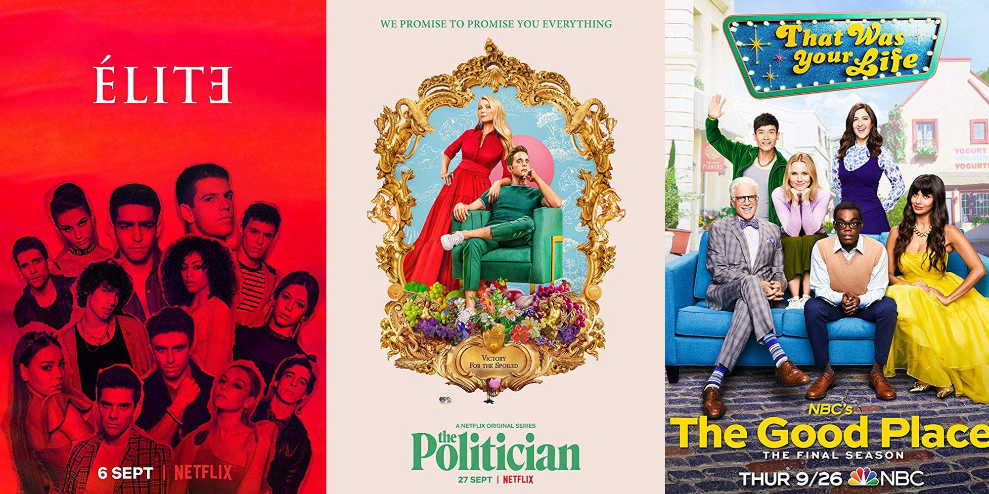 5 series que no te puedes perder en septiembre de 2019
