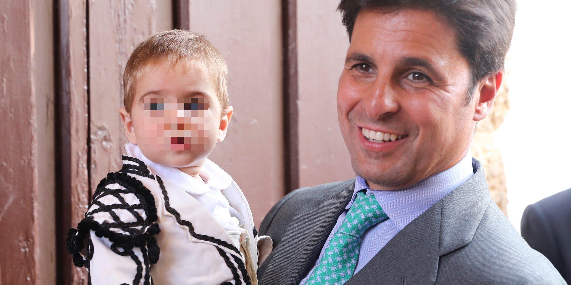 Curro, el hijo de Fran Rivera y Lourdes Montes, el gran protagonista en su primera Goyesca de Ronda
