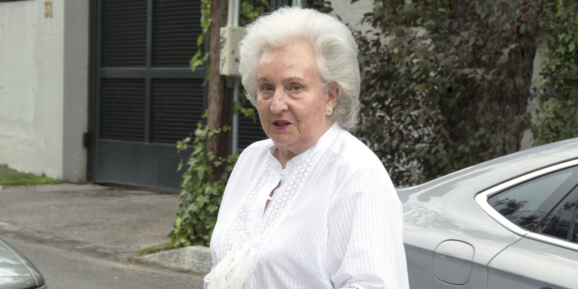 El motivo por el que la Infanta Pilar ha tenido que ser ingresada en Palma