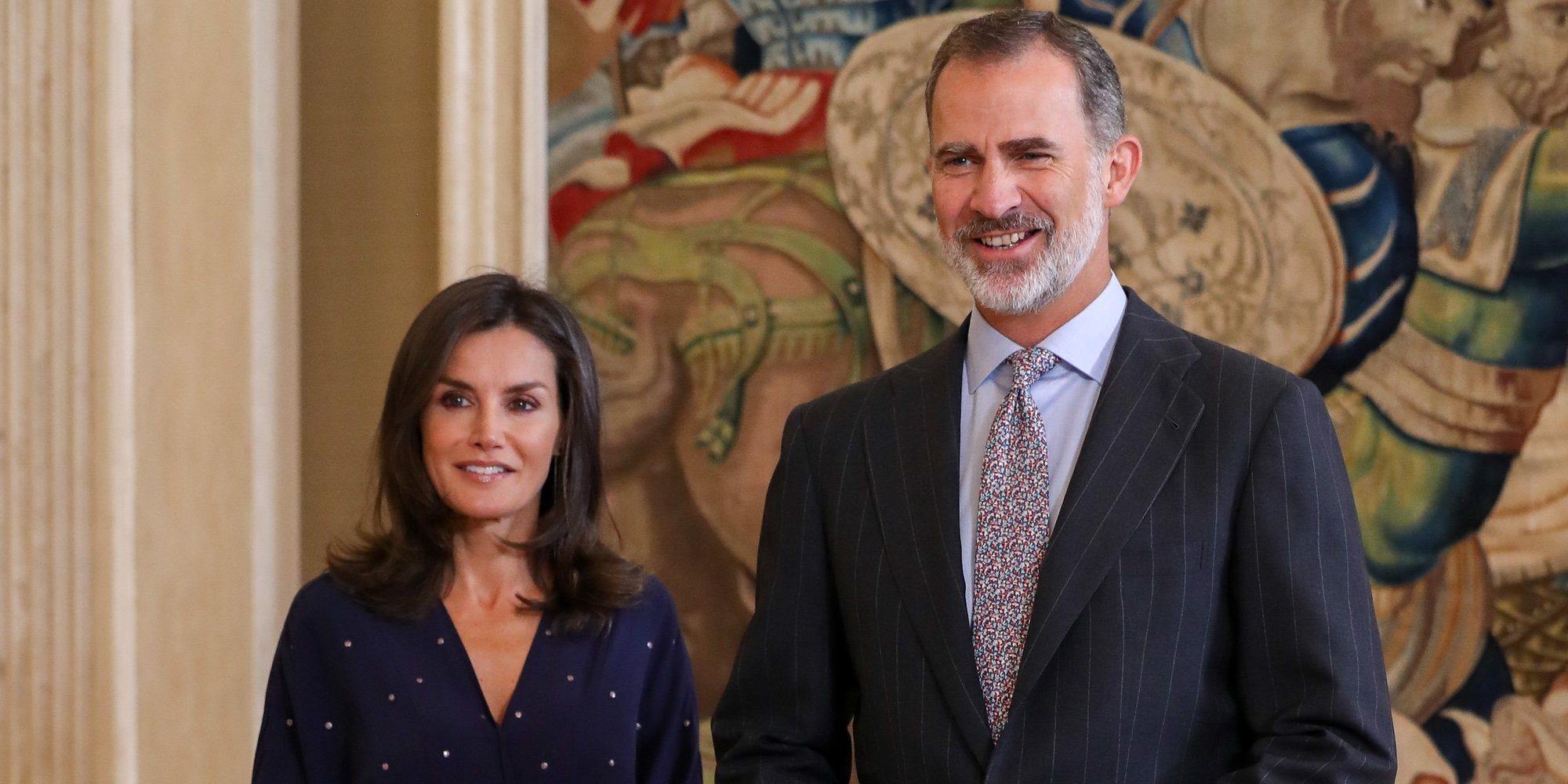La felicidad de los Reyes Felipe y Letizia en su vuelta al trabajo tras sus atípicas vacaciones