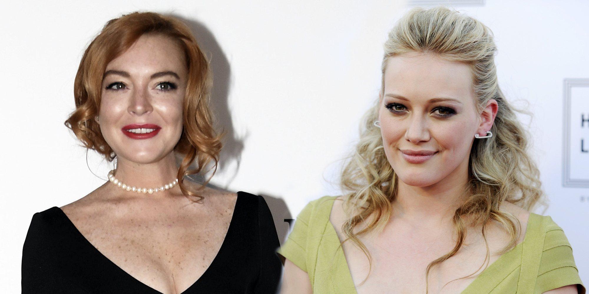 Enemigas Íntimas: Hilary Duff y Lindsay Lohan, dos chicas Disney enfrentadas por un amor adolescente