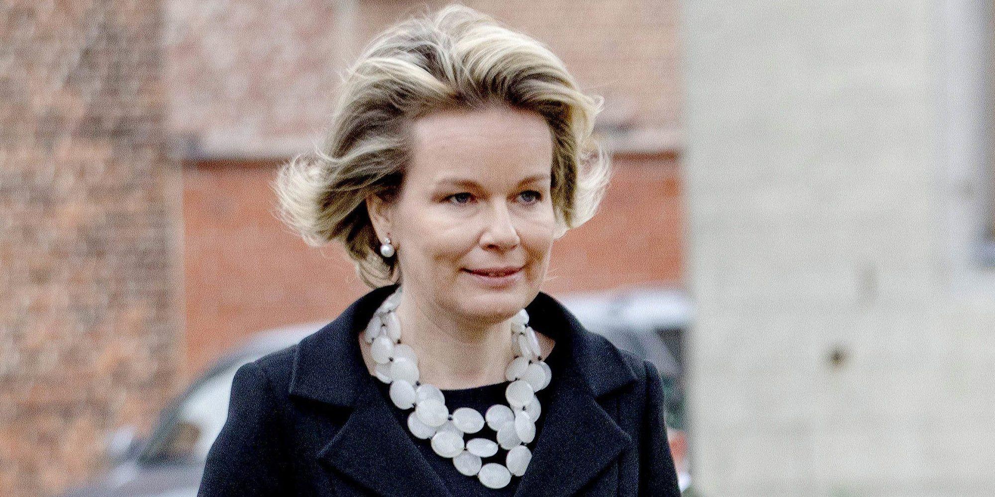 La Reina Matilde de Bélgica debuta en televisión con una sección propia