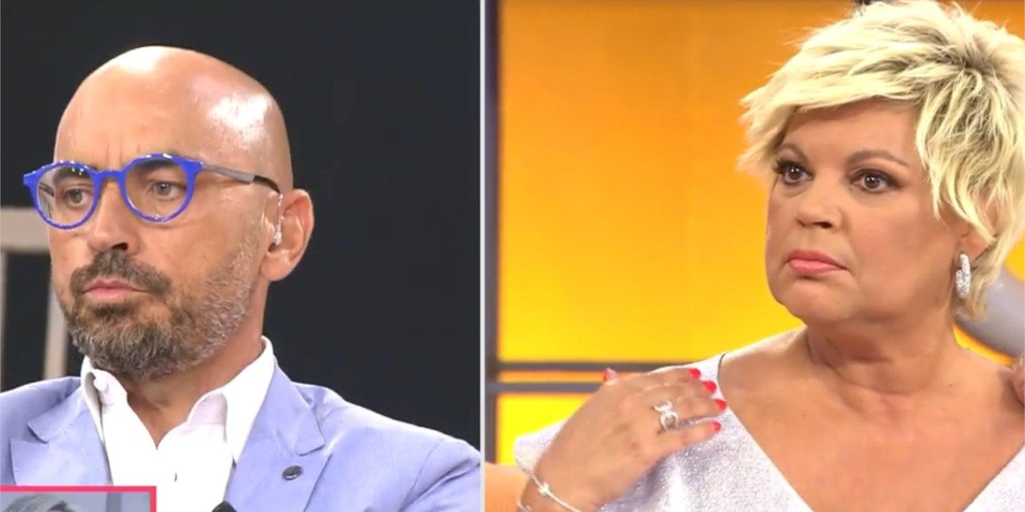 """Terelu y Diego Arrabal se enzarzan en una discusión por Rocío Carrasco: """"No me tienes que decir lo que tengo que hacer"""""""