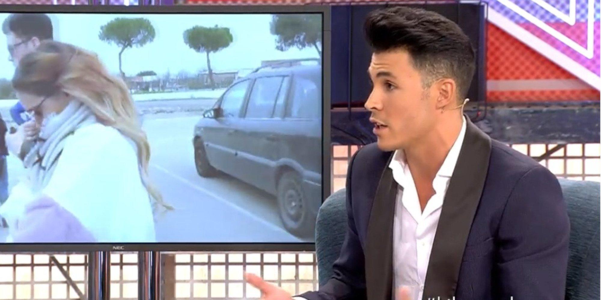 Kiko Jiménez desvela que fue un familiar de Gloria Camila el que le avisó de las infidelidades de la joven