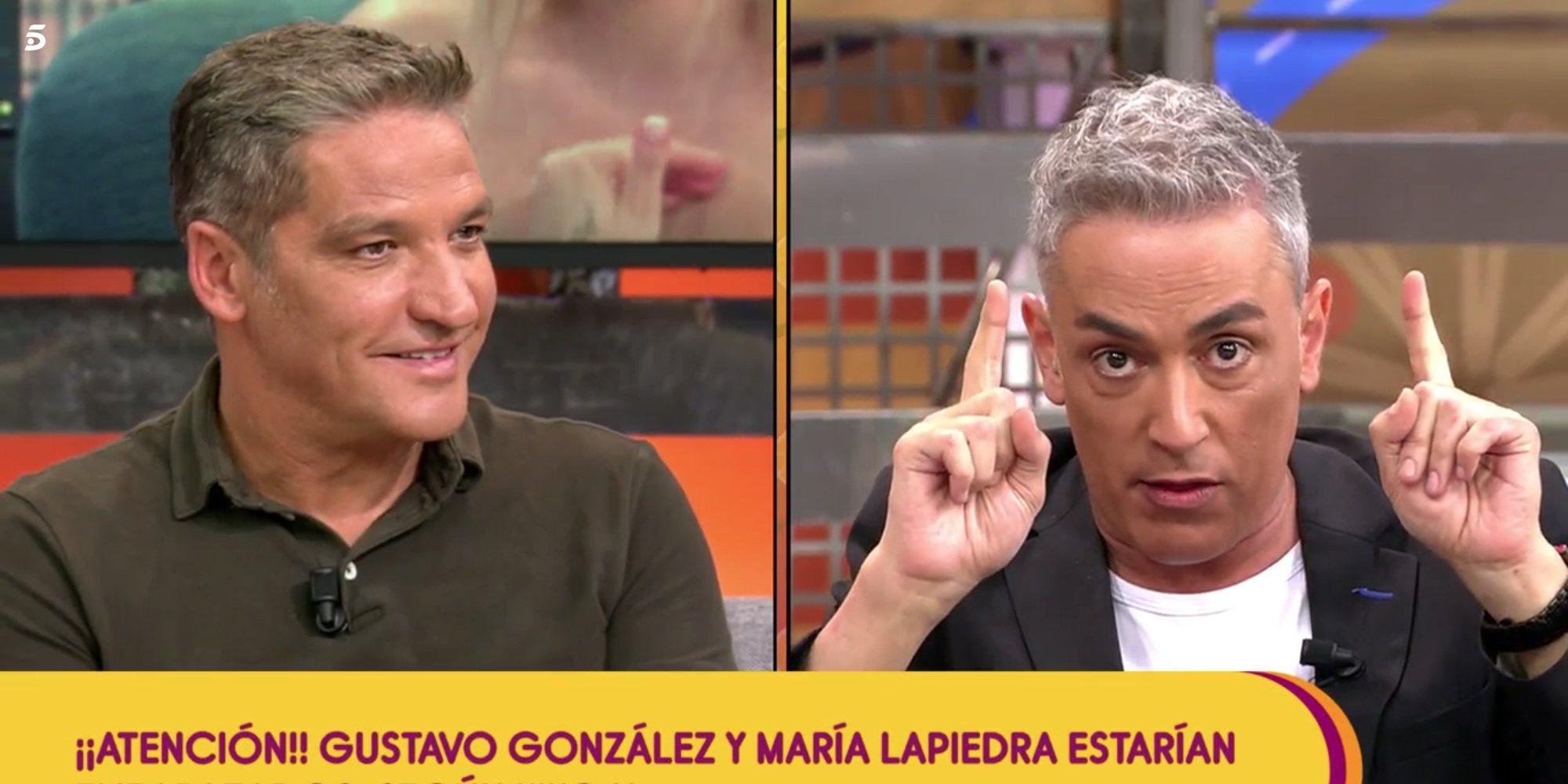 "Kiko Hernández insinúa que Gustavo González va a ser padre: ""Enhorabuena Gustavo, que vas a ser papá"""