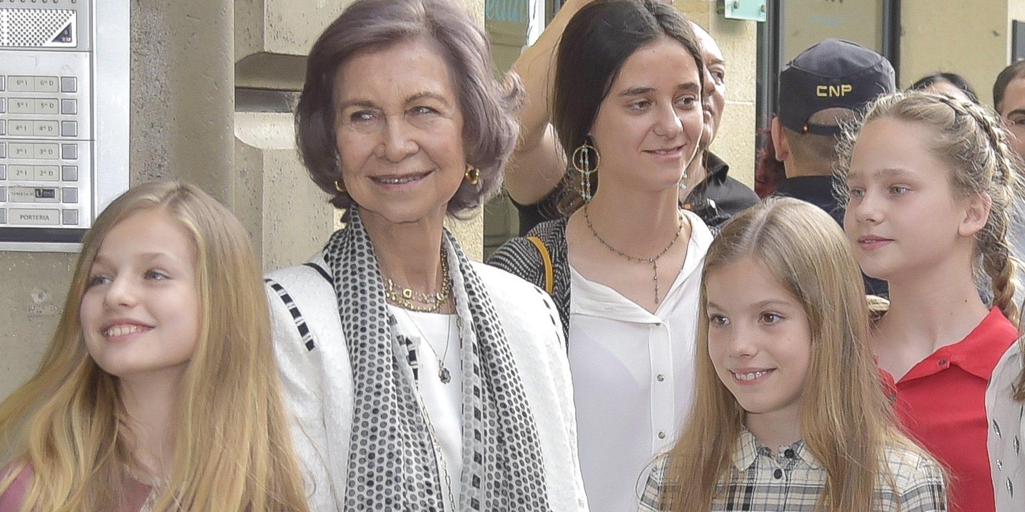 El detalle que une a la Princesa Leonor con Victoria Federica e Irene Urdangarin