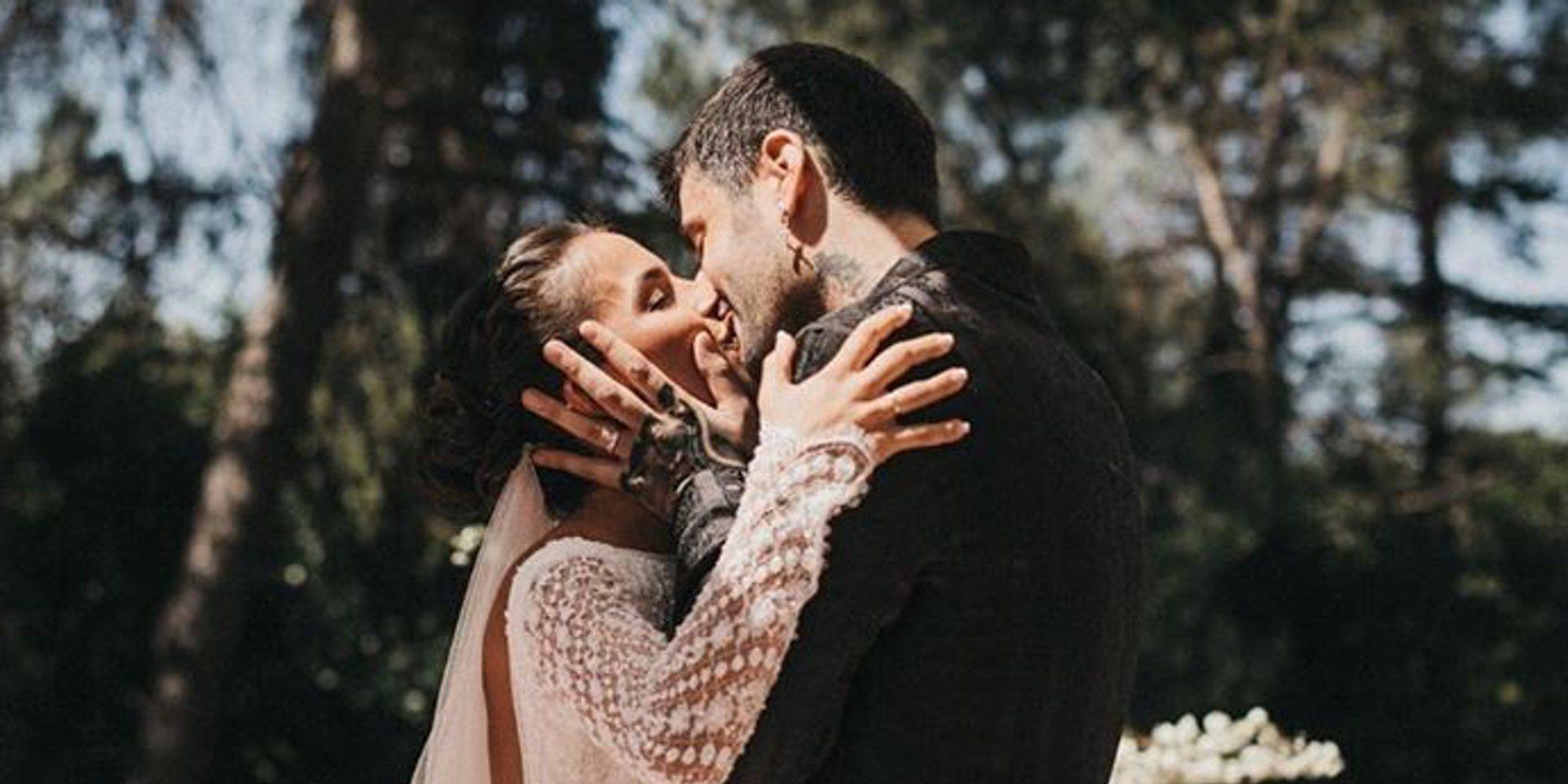 Julia Nakamatsu enseña algunos detalles de su preciosa boda con Melendi en un castillo de cuento