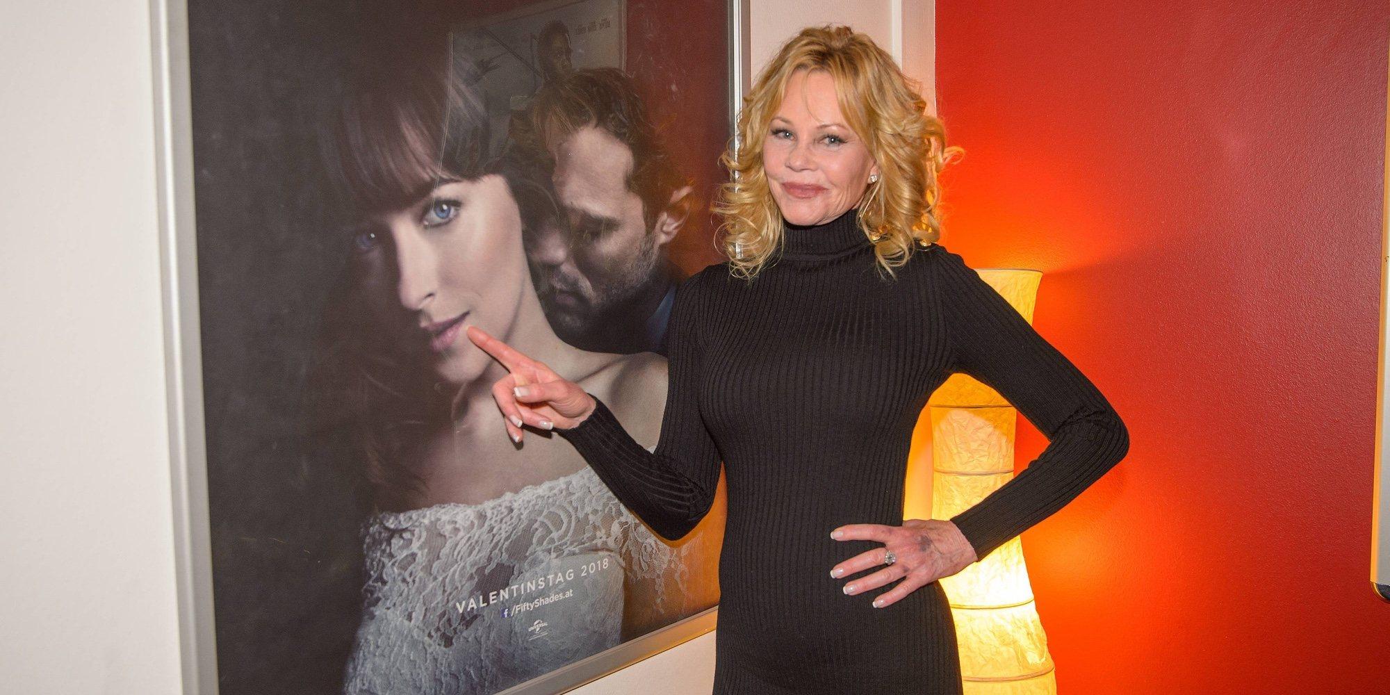 Melanie Griffith opina sobre el romance entre Dakota Johnson y Chris Martin