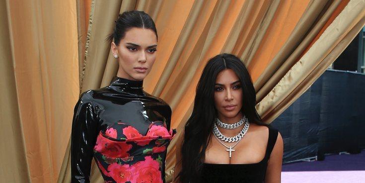 El discurso de Kim Kardashian y Kendall Jenner, objeto de burla durante los Emmy 2019