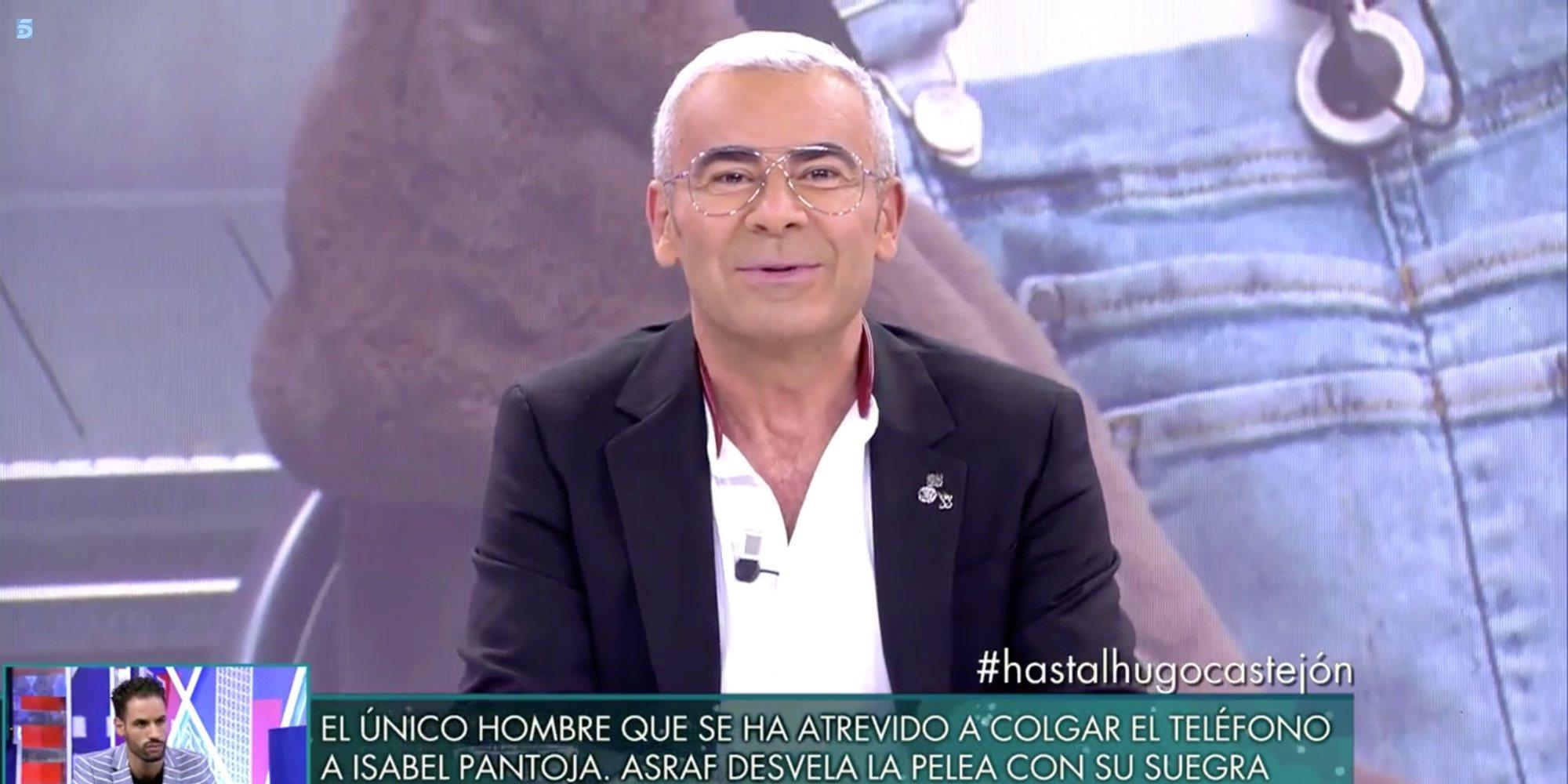 """Jorge Javier Vázquez, sorprendido por los atributos de 'El Cejas' ('GHVIP 7'): """"Eso a los delgaditos les pasa"""""""