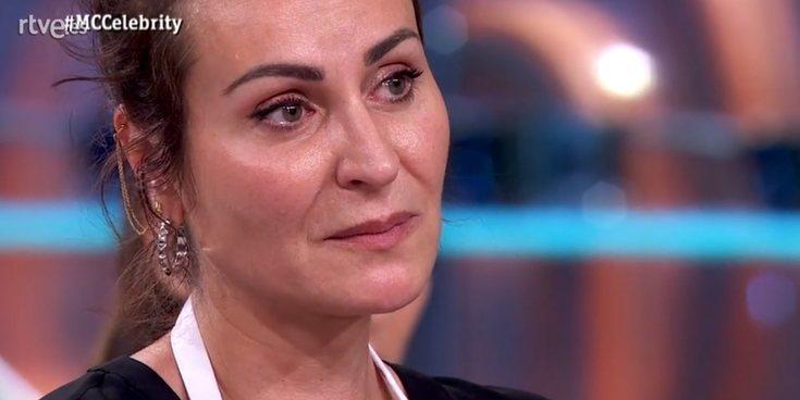 Ana Milán se derrumba tras un mal gesto de su compañera Vicky Martín Berrocal en 'MasterChef Celebrity 4'