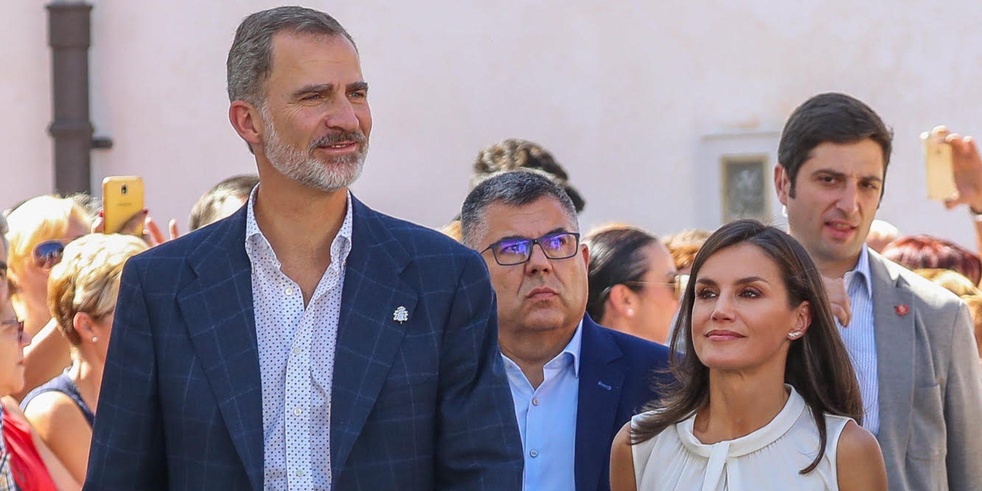 La visita de los Reyes a Orihuela y Los Alcázares, una zona afectada por las lluvias torrenciales