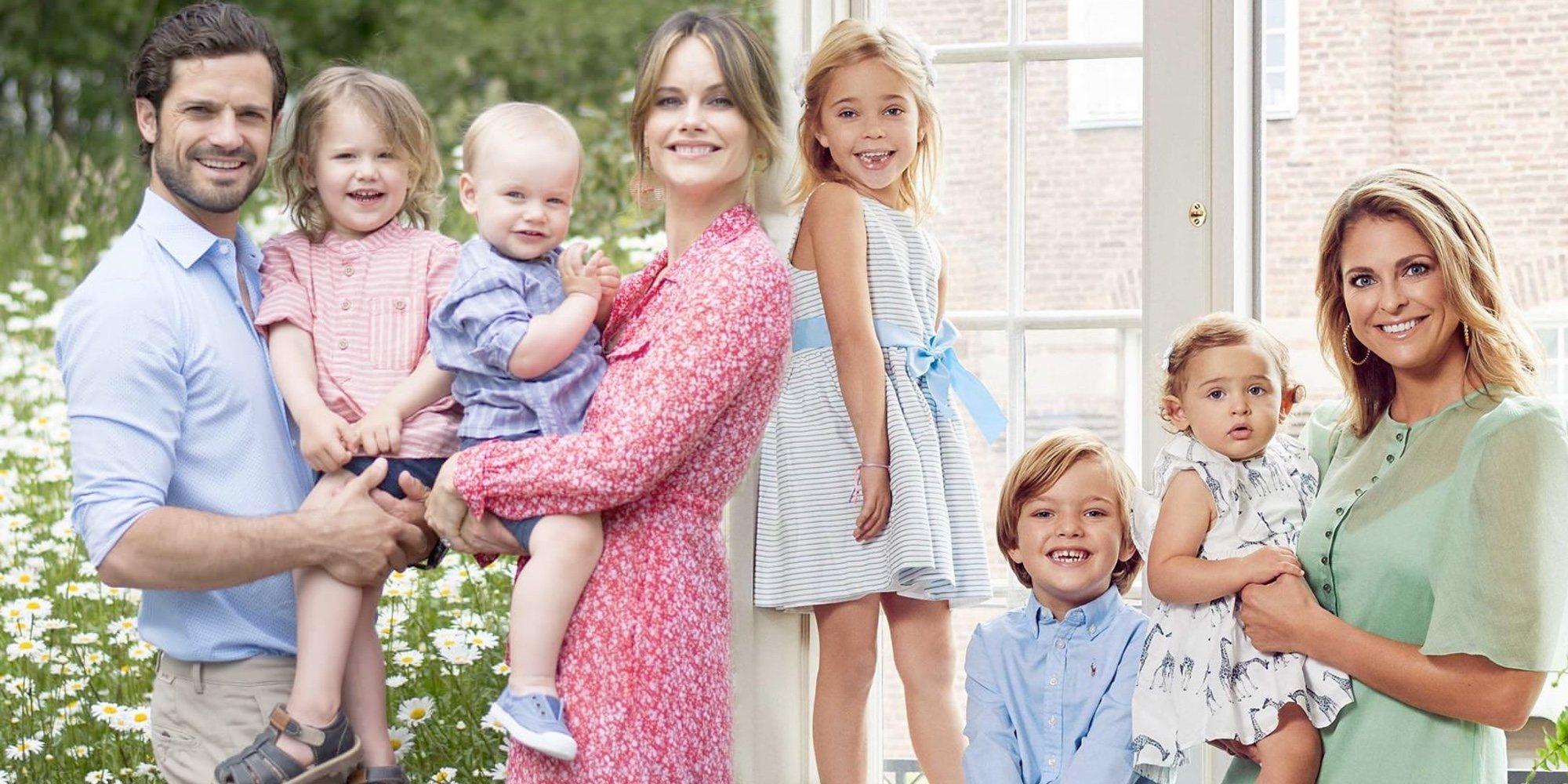 Así será la vida de los hijos de Carlos Felipe y Magdalena de Suecia tras ser apartados de la Casa Real Sueca