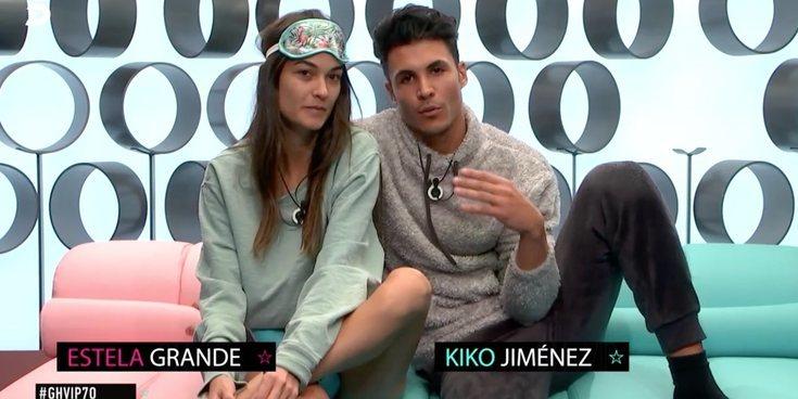 Kiko Jiménez, la mejor ayuda de Estela Grande para escribir una carta a Diego Matamoros en 'GH VIP 7'