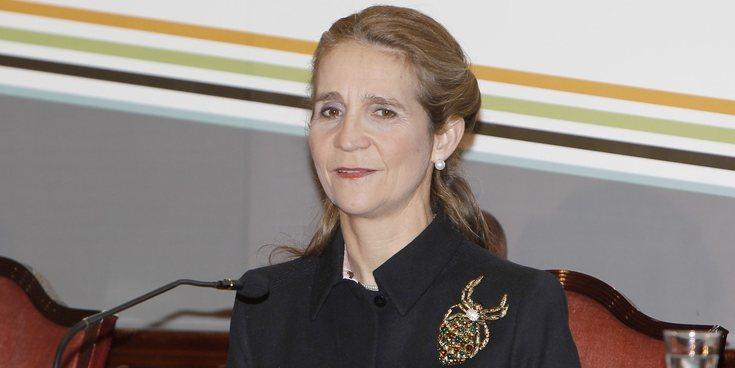 La dolencia que sufre la Infanta Elena y que le impidió acompañar a la Infanta Cristina a una boda