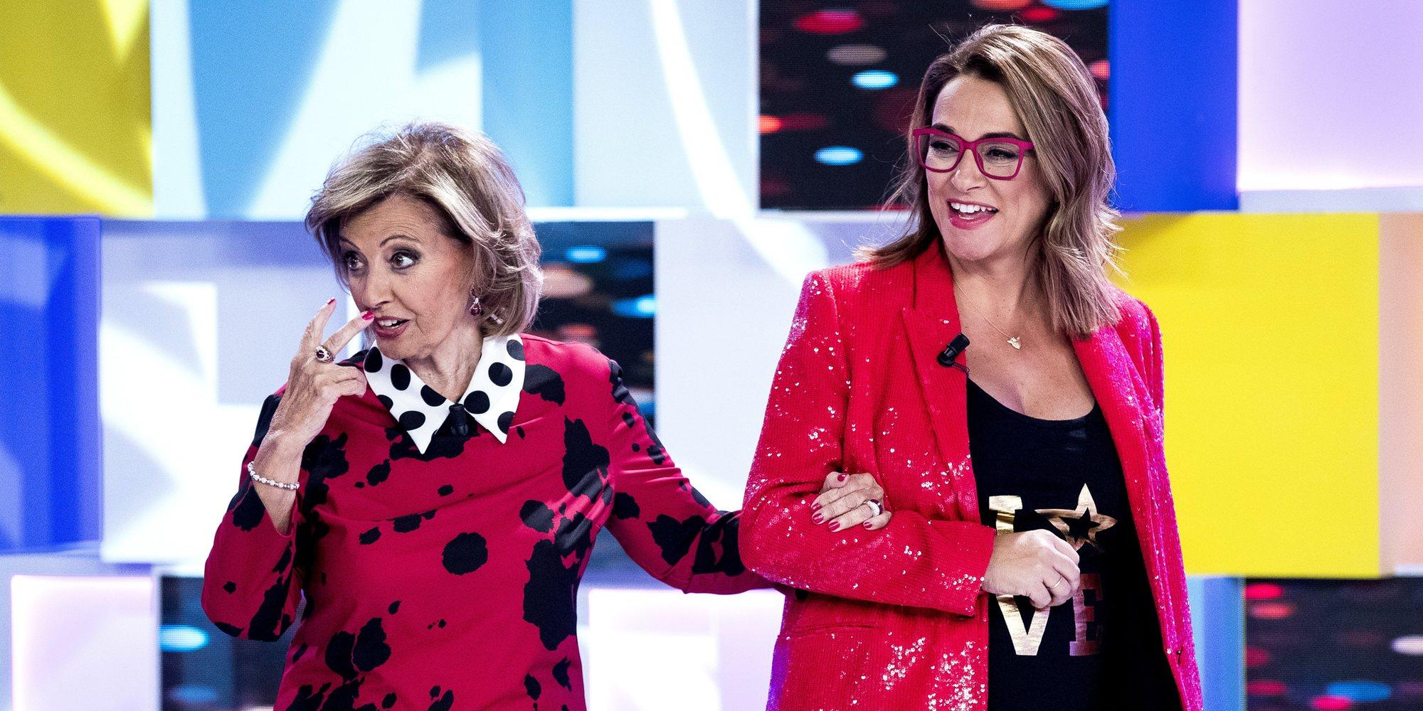 El tremendo susto de Toñi Moreno en 'MyHyV' al pensar que María Teresa Campos había muerto