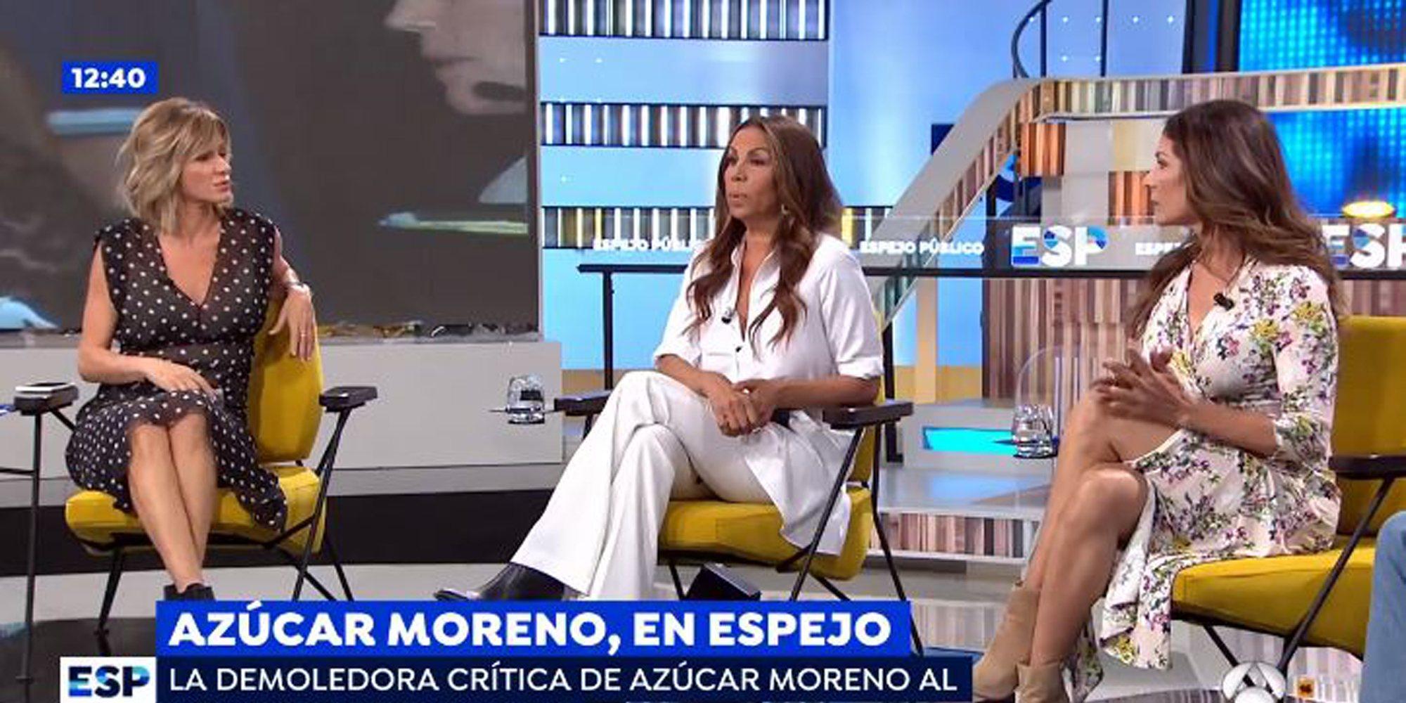"""Las Azúcar Moreno arremeten contra Chabelita Pantoja en 'Espejo Público': """"Eso no es música"""""""
