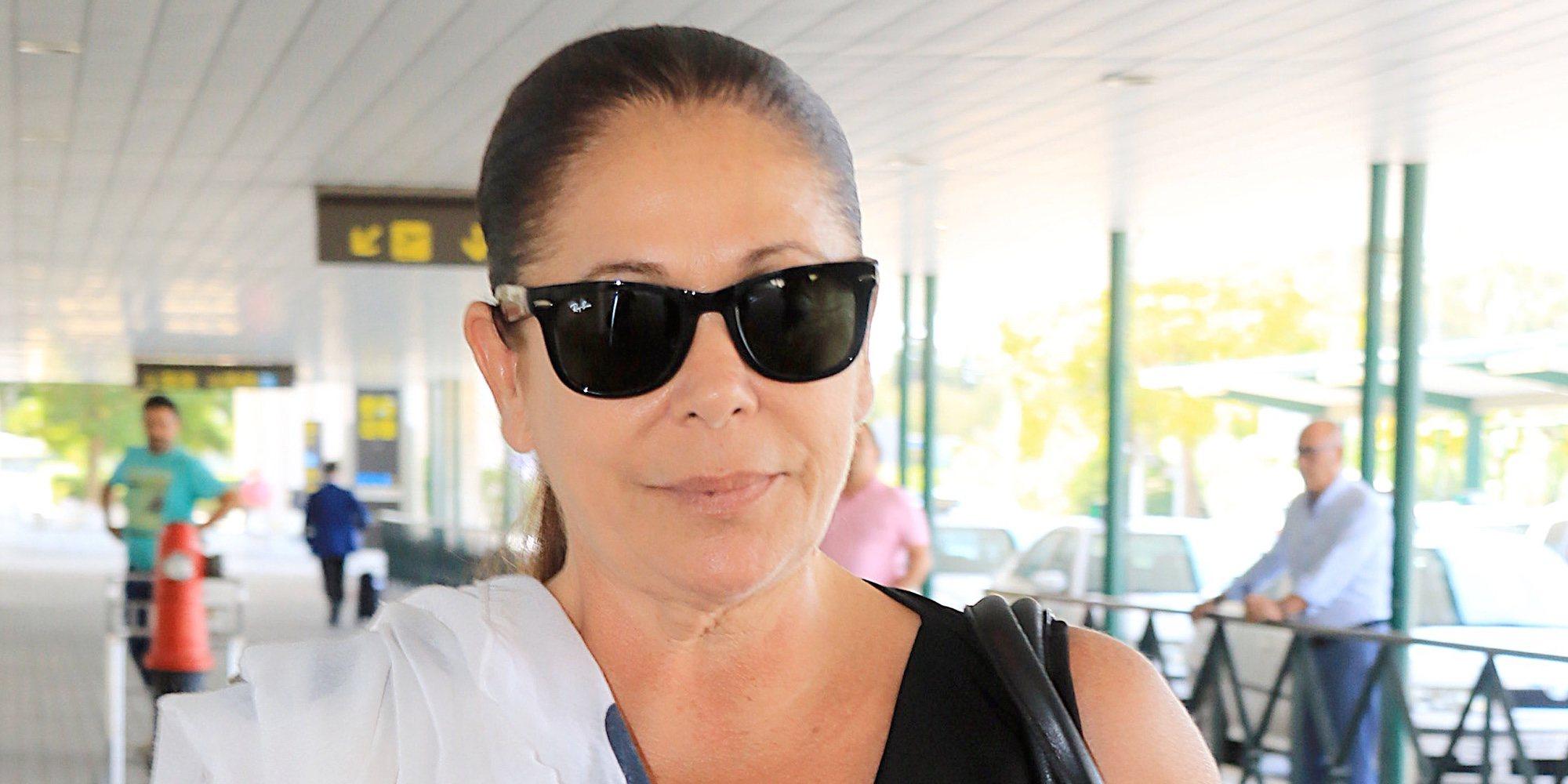 Isabel Pantoja vuelve a las grabaciones de 'Idol Kids' tras estabilizarse la salud de Doña