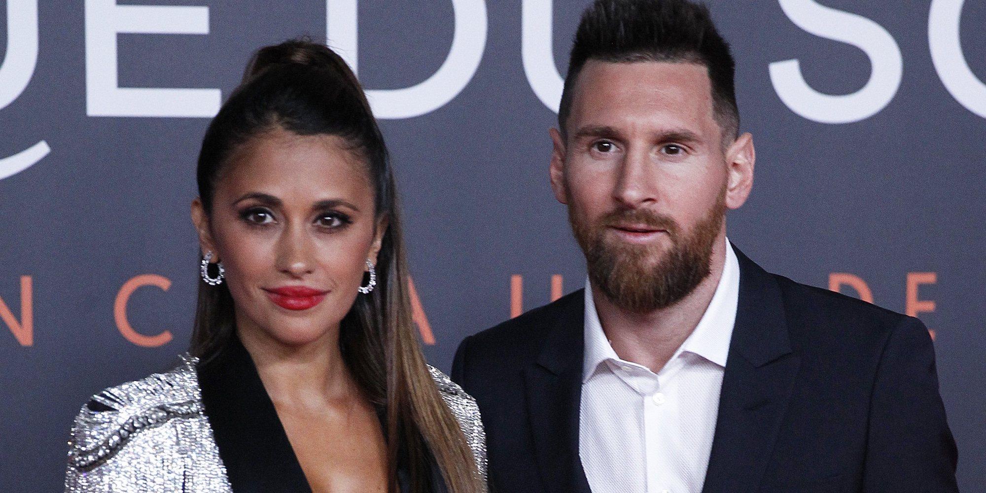 Leo Messi se rodea de Shakira, Paz Vega o Dani Martín en el estreno de su espectáculo del Circo del Sol