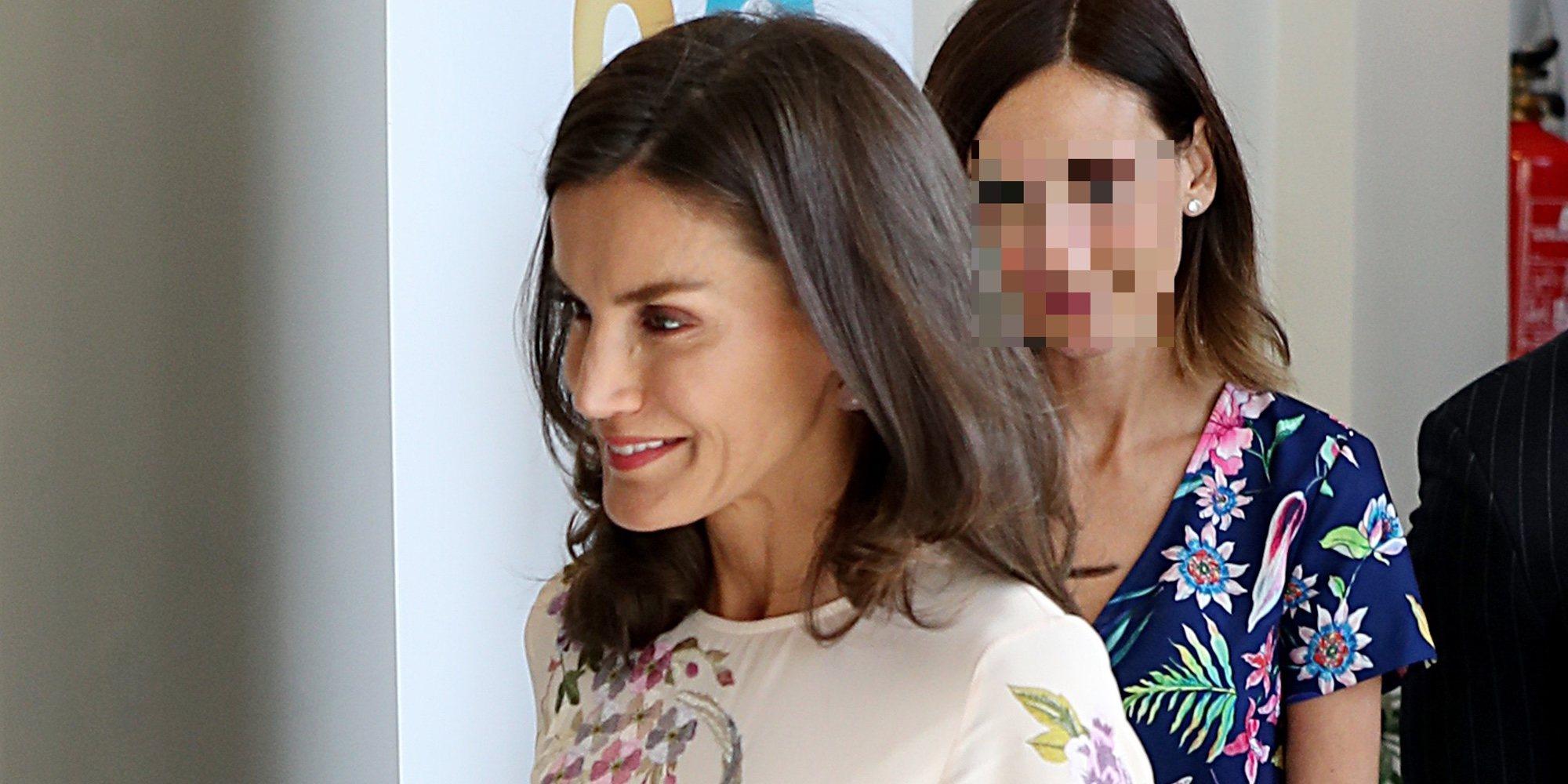 Pelayo Díaz presume de su buena sintonía con la Reina Letizia en su segundo encuentro