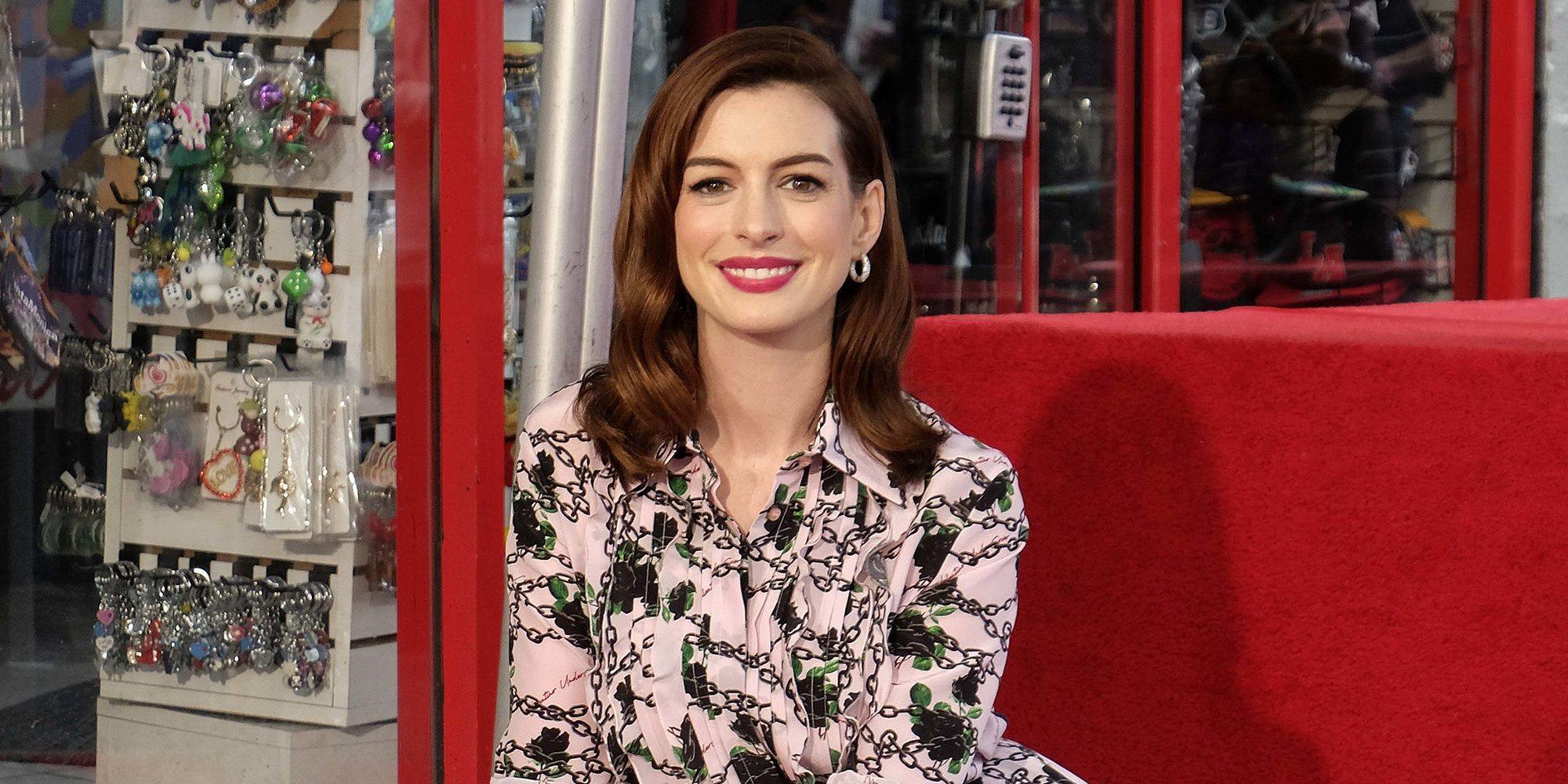 Anne Hathaway presume de su segundo embarazo en Nueva York