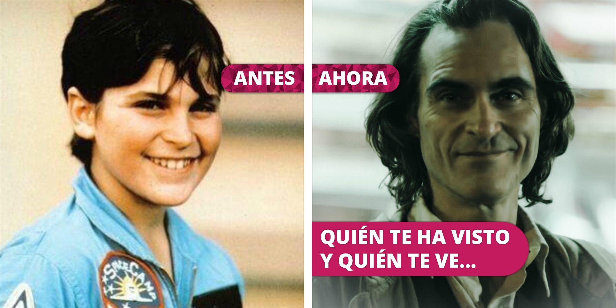 Así ha cambiado Joaquin Phoenix: De sus inicios televisivos a su aclamada interpretación en 'Joker'