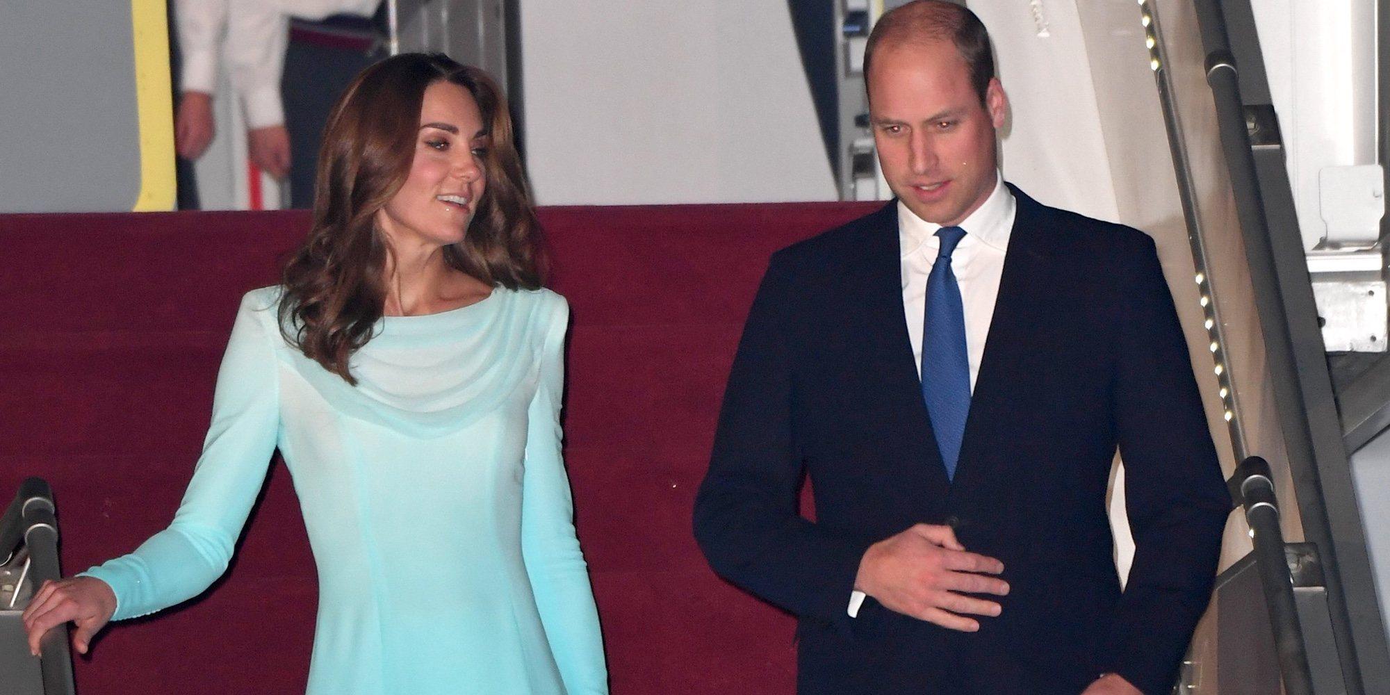 El recuerdo de Lady Di, muy presente en el viaje oficial del Príncipe Guillermo y Kate Middleton a Pakistán