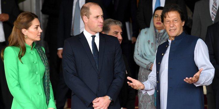 El Príncipe Guillermo y Kate Middleton, entre un encuentro con un viejo amigo de Lady Di y una cena de gala