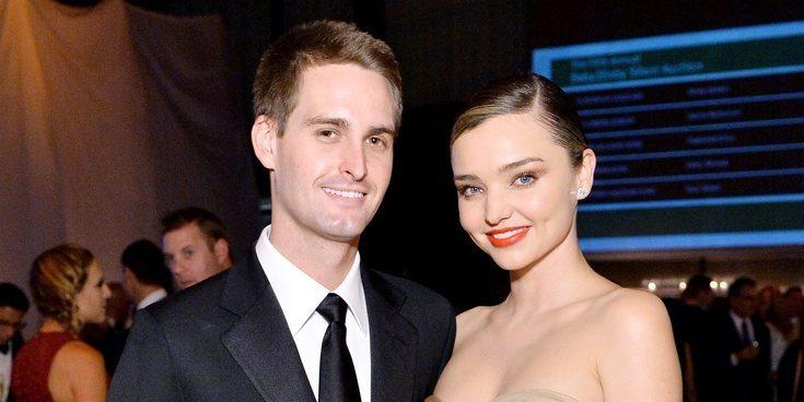 Miranda Kerr y Evan Spiegel, padres de su segundo hijo en común, Myles