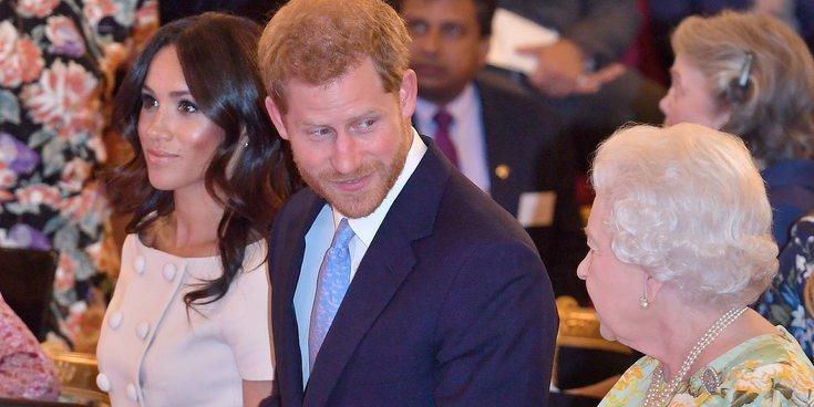 La preocupación de la Reina Isabel por el camino que están tomando el Príncipe Harry y Meghan Markle