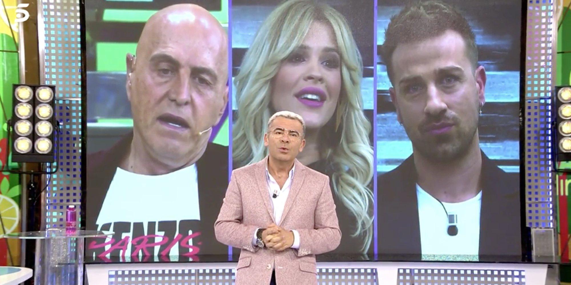 Jorge Javier Vázquez se disculpa en 'Sálvame' por la discusión de Ylenia, Rafa Mora y Kiko Matamoros