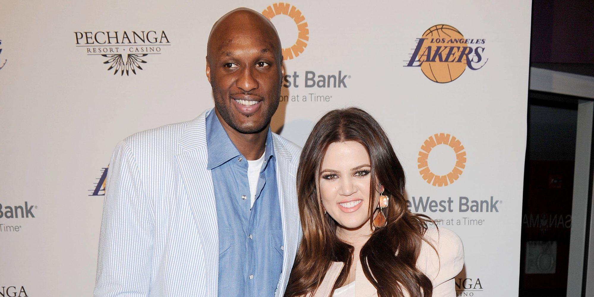 Mientras Khloe Kardashian echa de menos a Lamar Odom... Él está cansado de que le pregunten por su exmujer