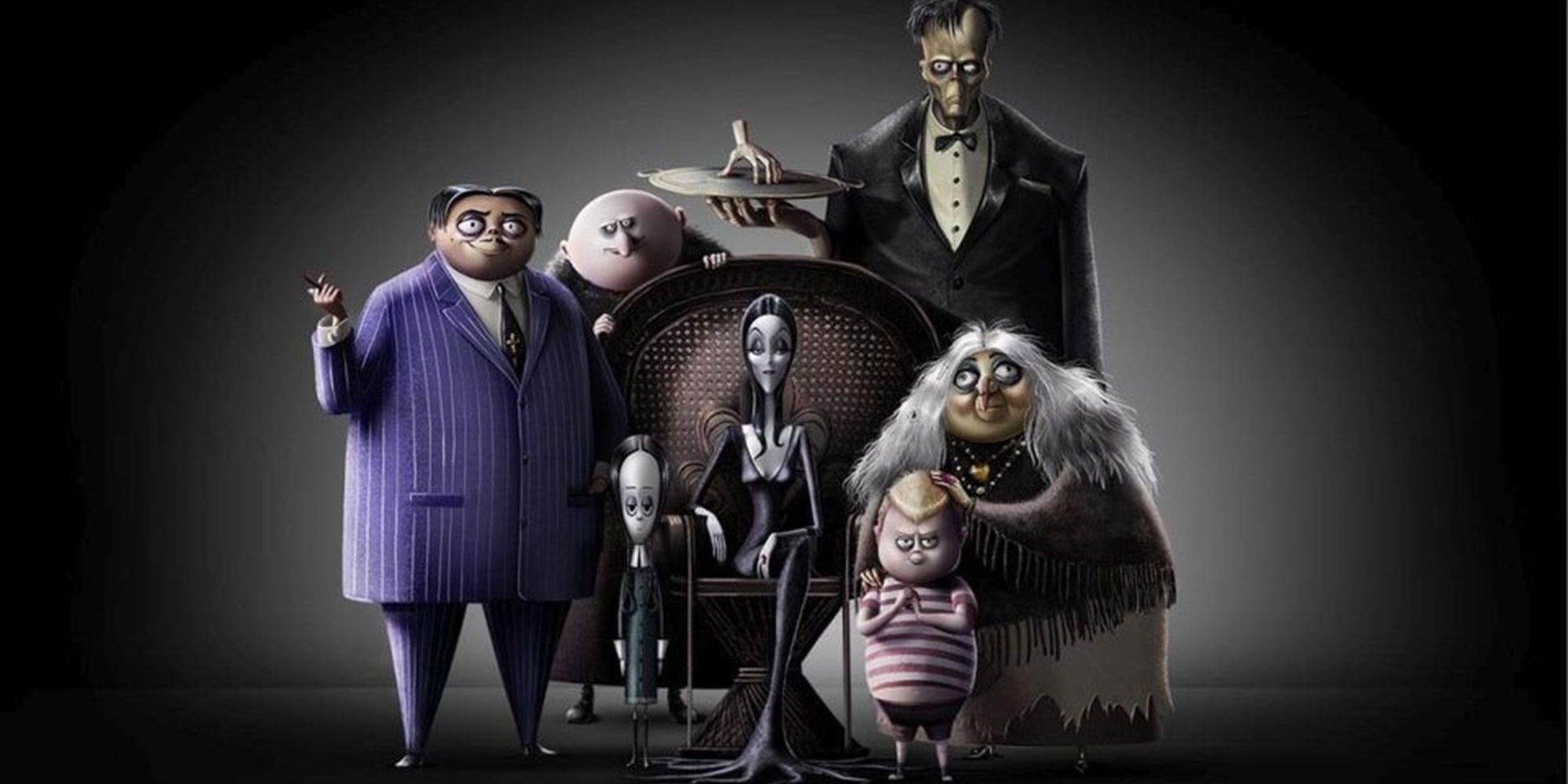 'La familia Addams' y 'El silencio de la ciudad blanca' encabezan los estrenos de la semana