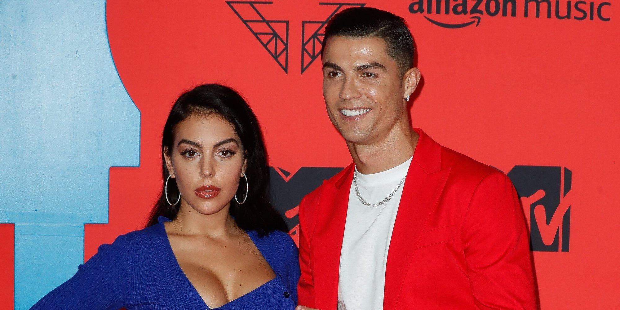 Cristiano Ronaldo y Georgina Rodríguez sorprenden con su asistencia en los Premios MTV Ema 2019