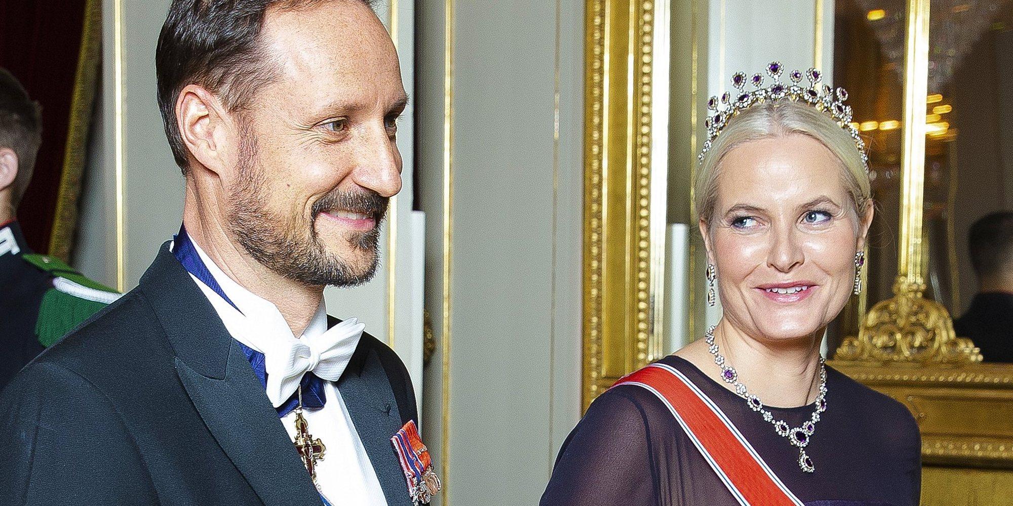 El guiño de la Princesa Mette Marit a Gwyneth Paltrow con su disfraz de Halloween