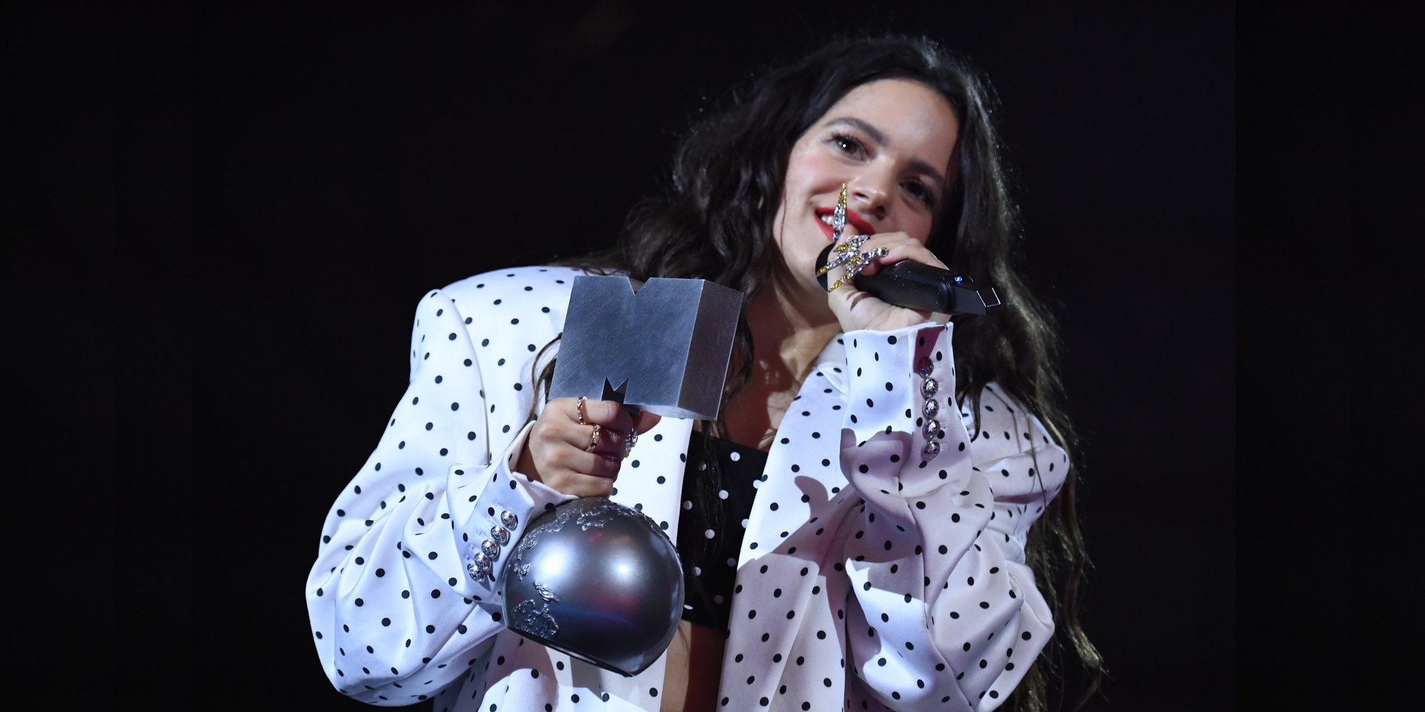 Taylor Swift, Billie Eilish, Rosalía, Lola Índigo... Lista completa de ganadores de los MTV EMAs 2019