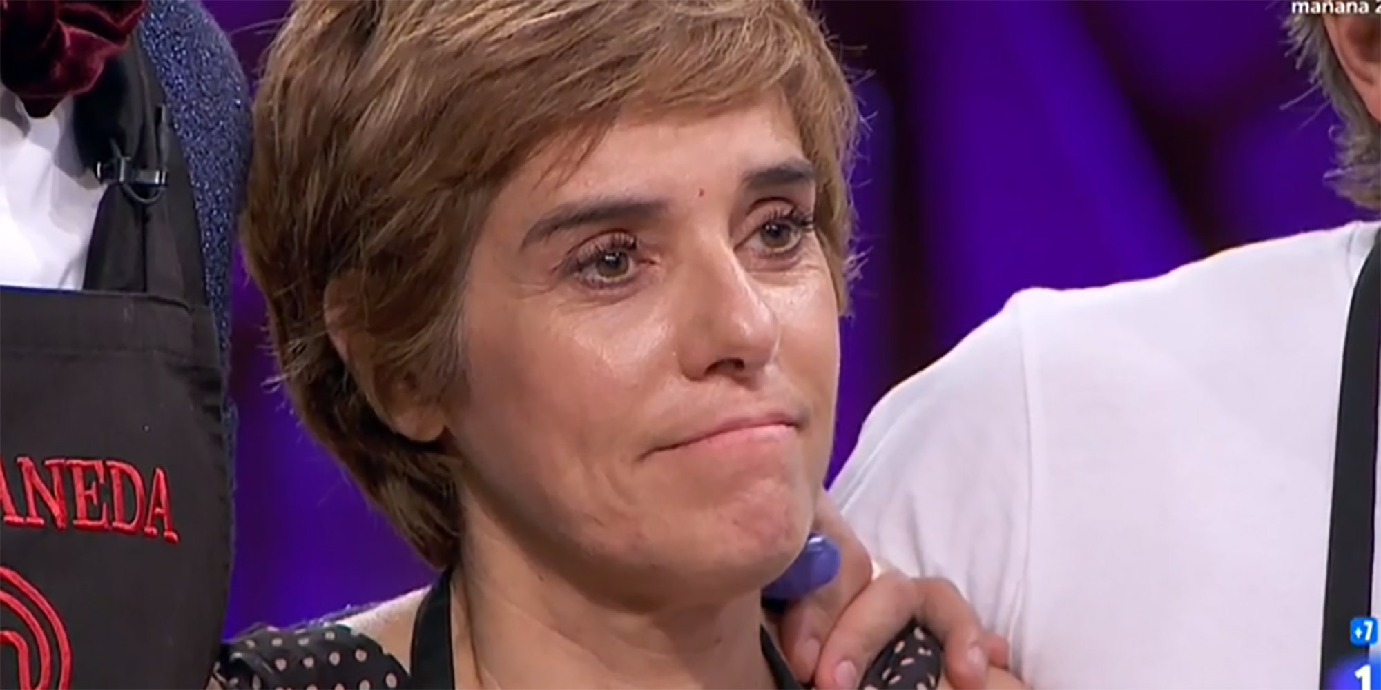 Anabel Alonso se despide de 'MasterChef Celebrity 4'