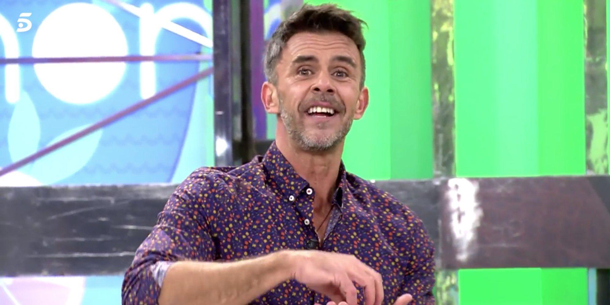 Alonso Caparrós se convierte por un día en el presentador de 'Sálvame'