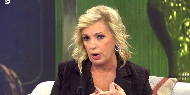 """La pullita de Carmen Borrego a María Patiño: """"Para hablar de honestidad hay que tener todo muy limpito"""""""