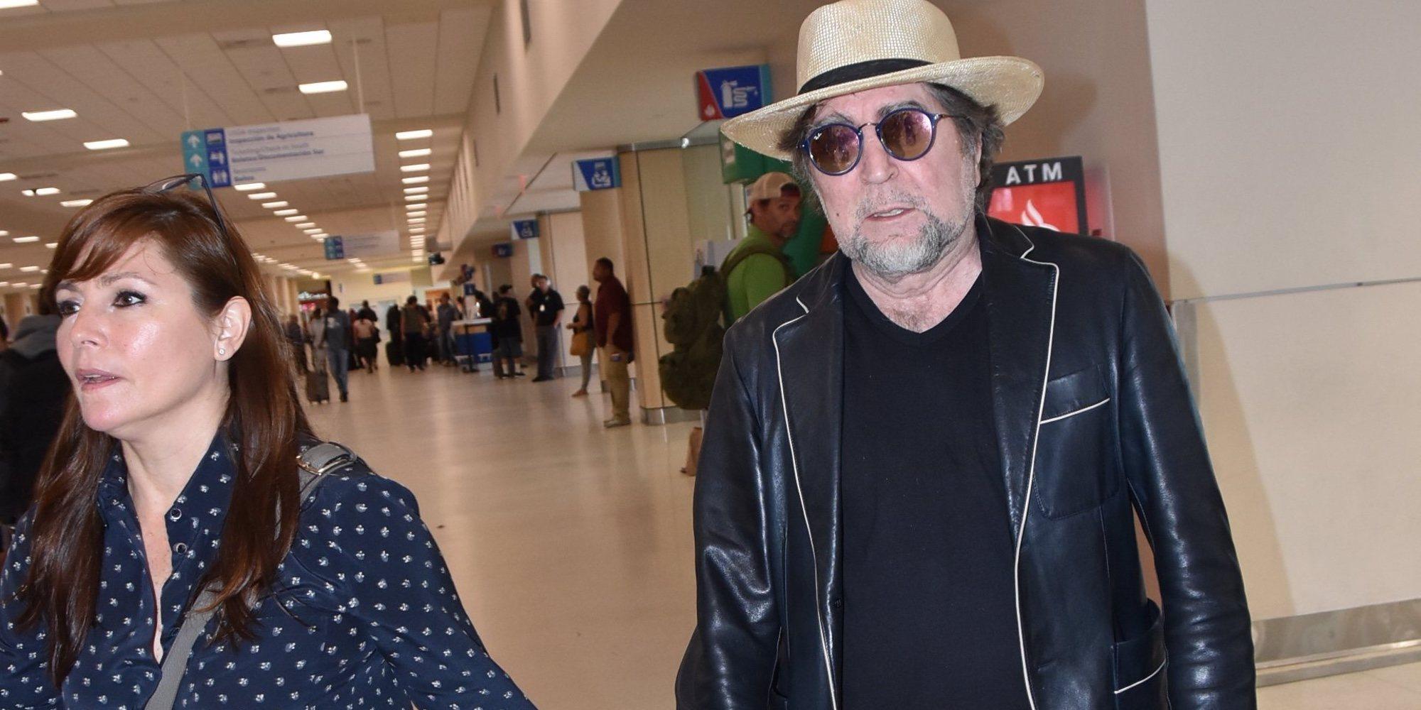 Joaquín Sabina y Jimena Coronado se casan después de veinte años juntos