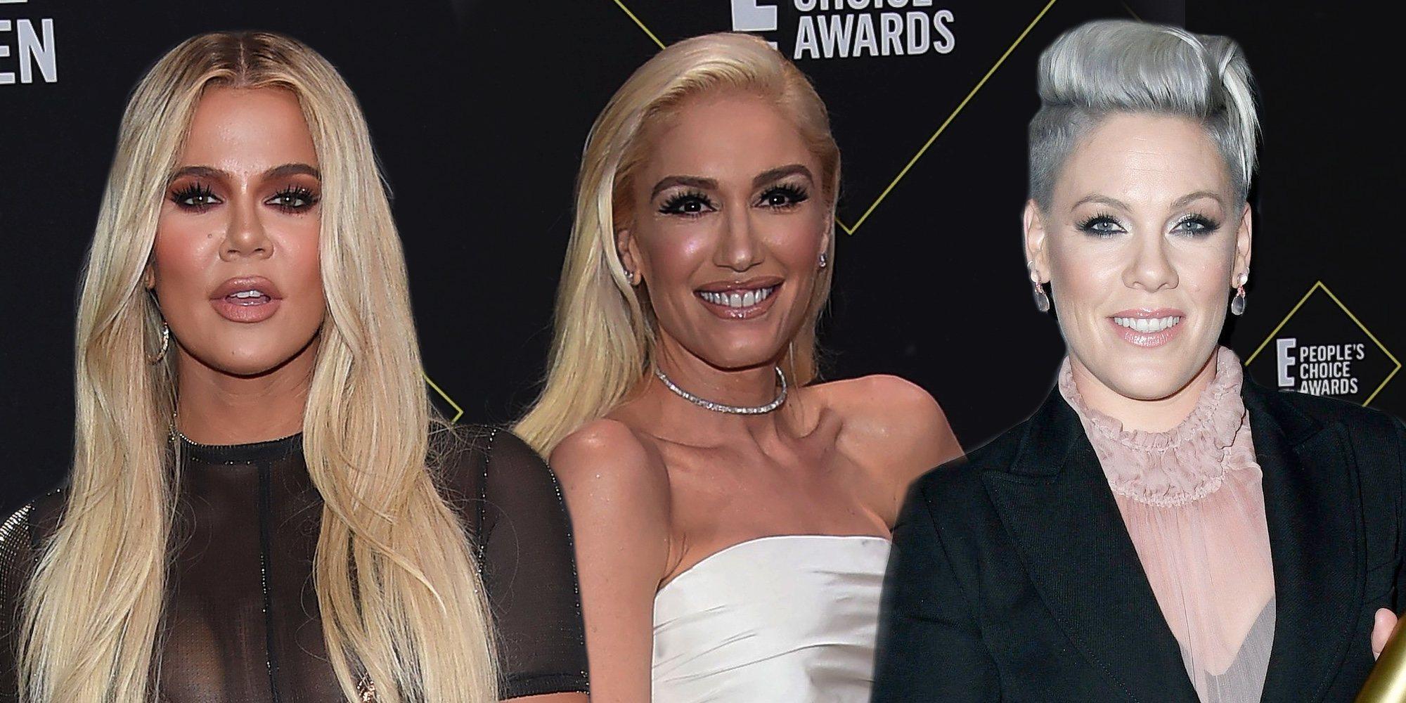 Khloe Kardashian, Gwen Stefani y Pink triunfan en los People's Choice Awards 2019