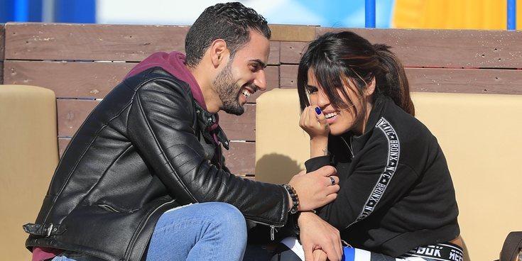 """La romántica felicitación de cumpleaños de Asraf Beno a Chabelita Pantoja: """"Gracias por llegar a mi vida"""""""