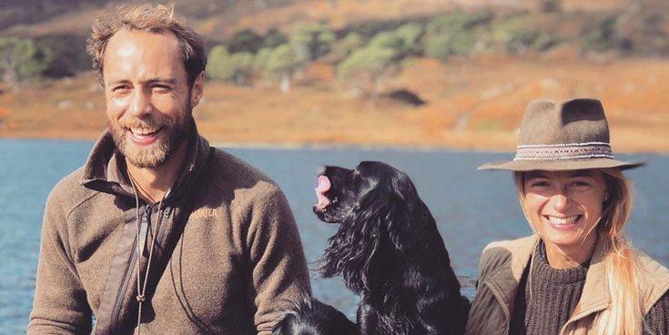 James Middleton comparte una foto con Alizee Thevenet y sus perros para hablar de cómo vive con depresión