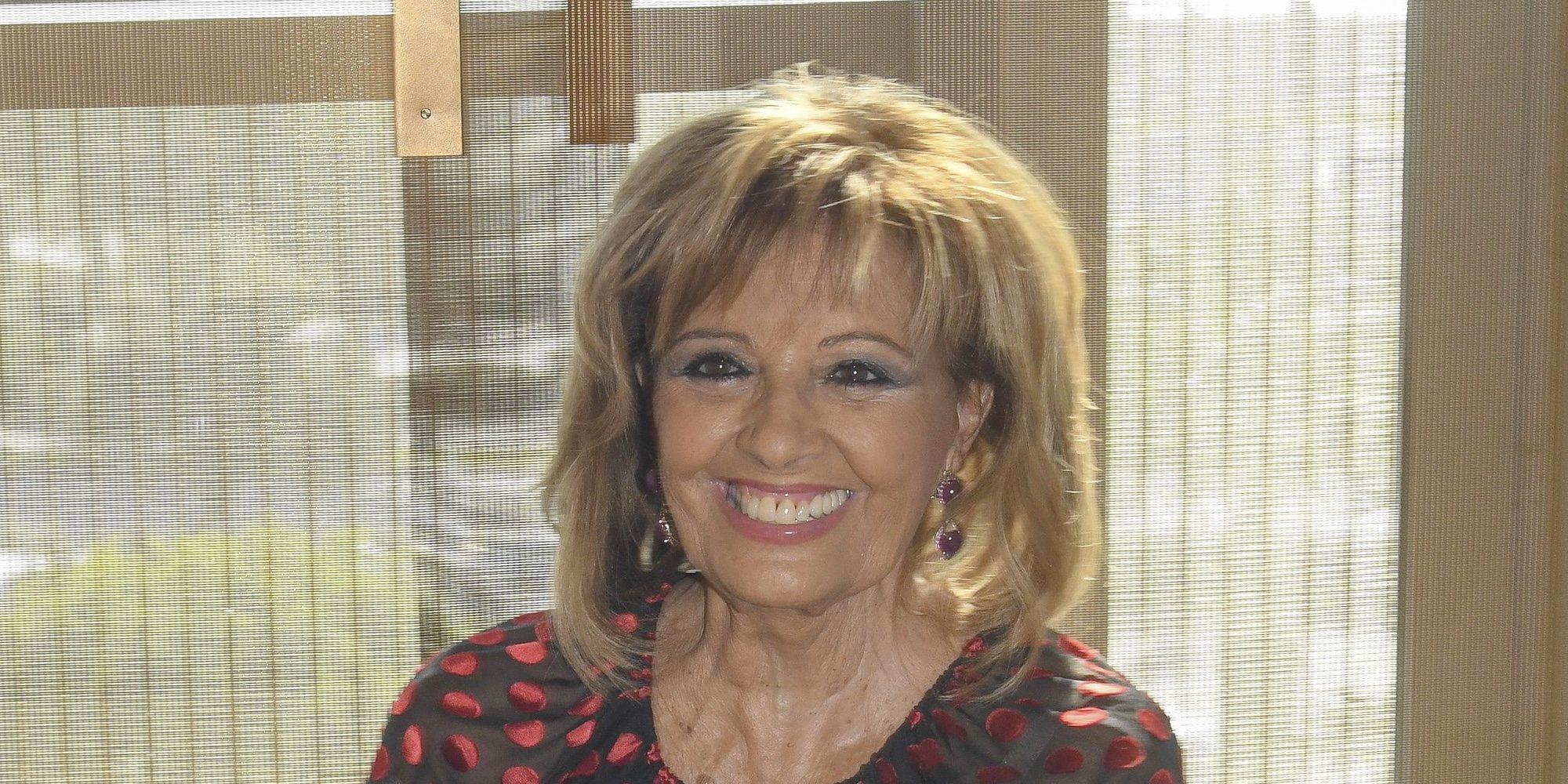 María Teresa Campos vuelve a la televisión con una colaboración que está cerrando