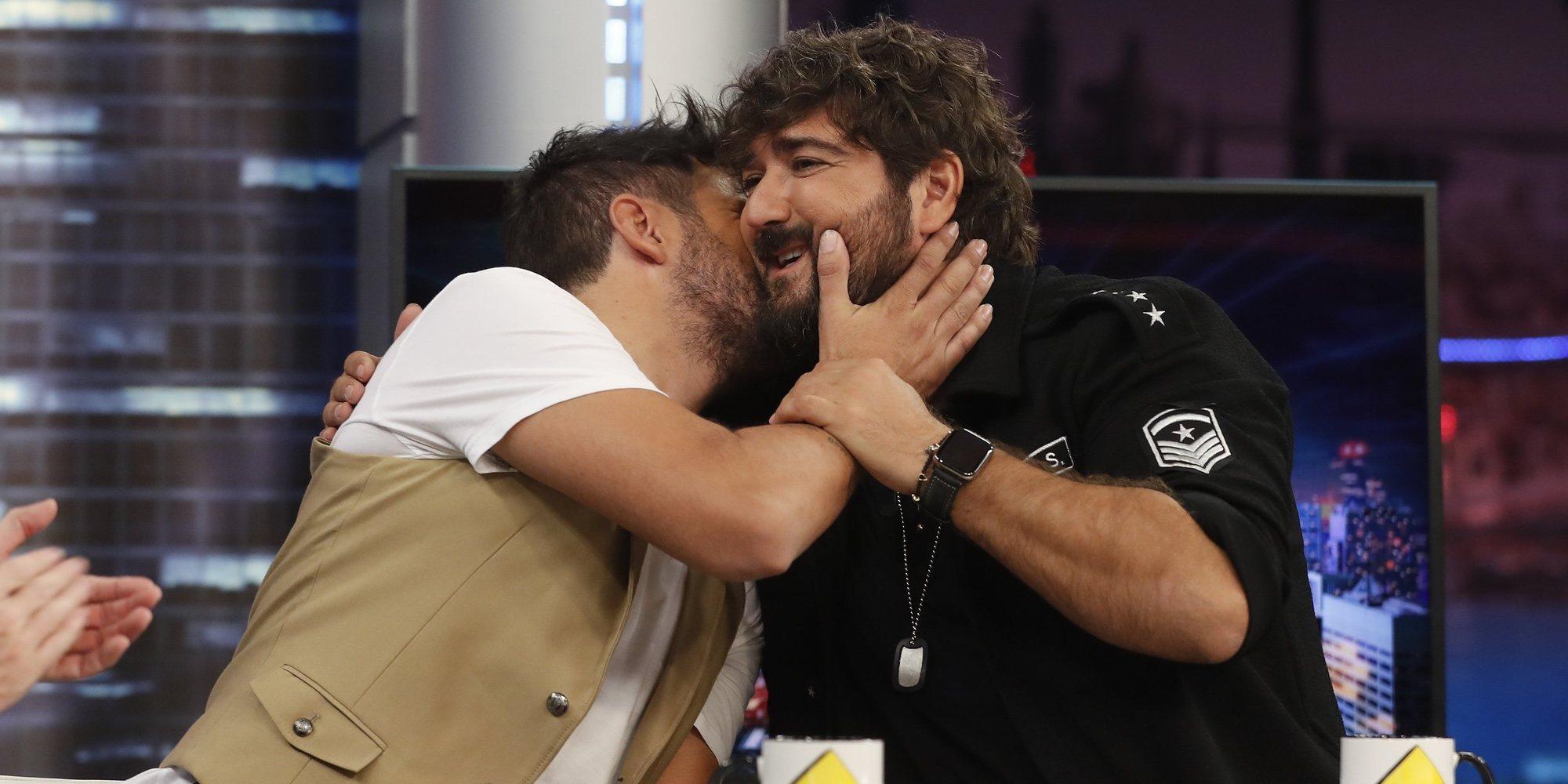 Pablo López y Antonio Orozco, una amistad nacida de la música