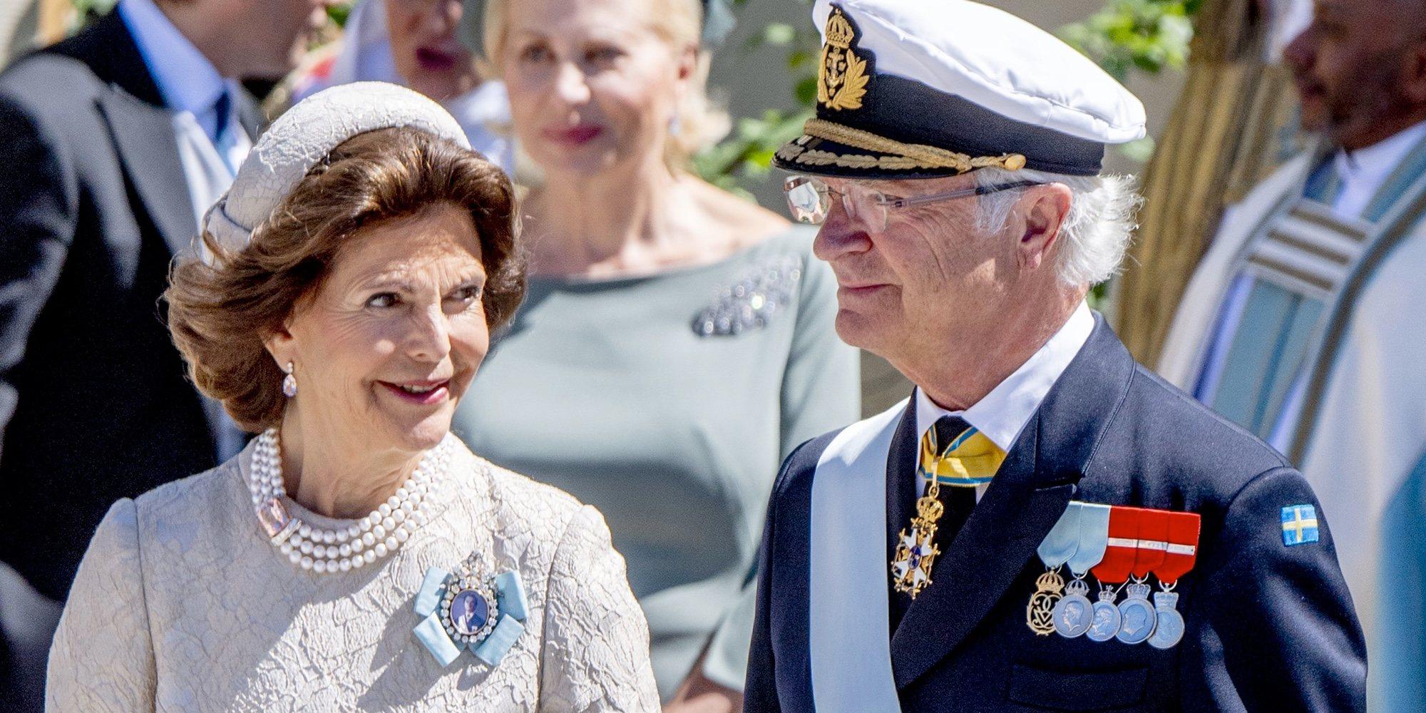 Así conocieron los Reyes Carlos Gustavo y Silvia de Suecia a su octavo nieto Julian de Suecia