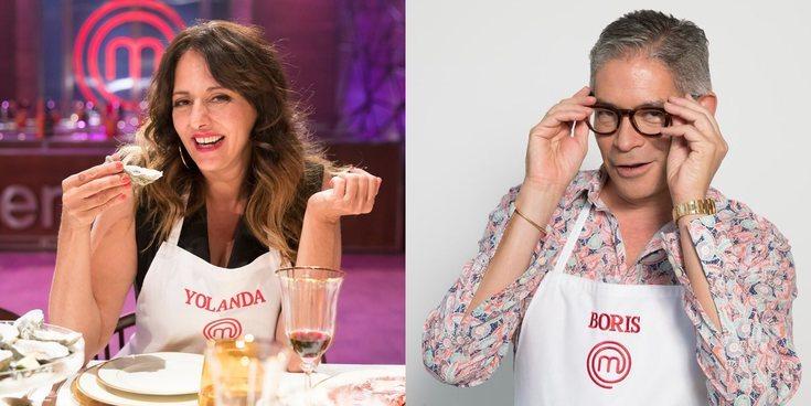 Yolanda Ramos y Boris Izaguirre, primeros semifinalistas de 'MasterChef Celebrity 4'